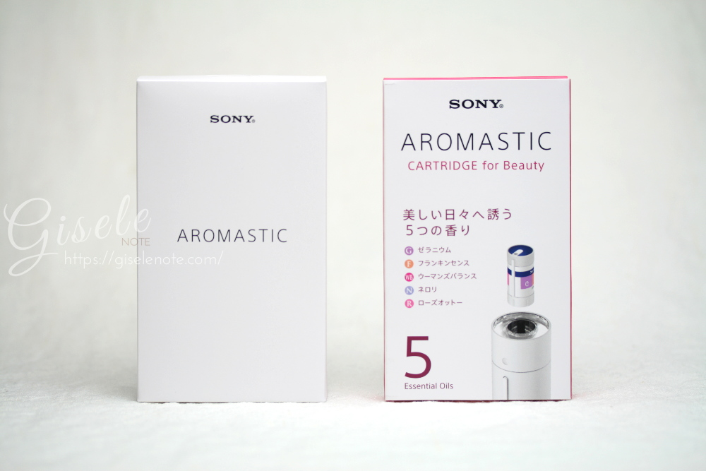 SONY ソニー AROMASTIC アロマスティック レビュー パッケージ
