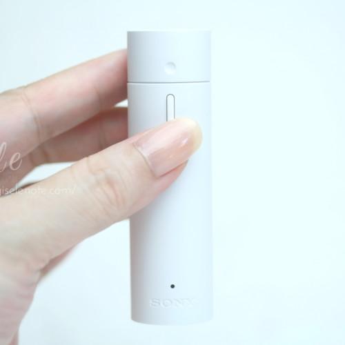 SONY ソニー AROMASTIC アロマスティック レビュー ボタンを押して香りを楽しむ
