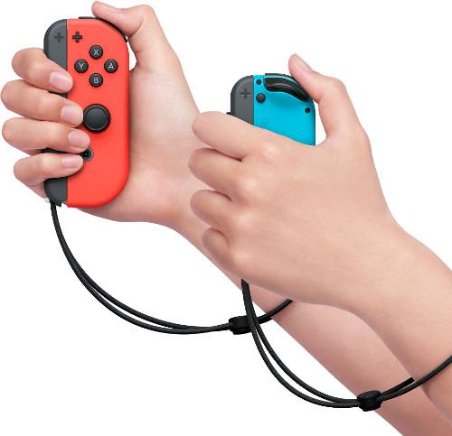 Nintendo Switch エクササイズソフト「Fit Boxing」 Joy-Con™ を両手に持つ